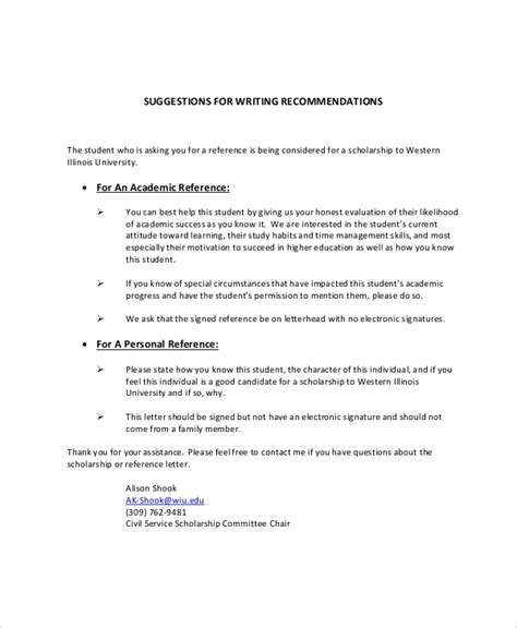 write  personal reference uk