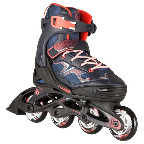 fit  kids inline skates navy oxelo