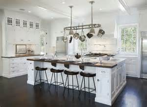 distressed black kitchen island dreamy white kitchens