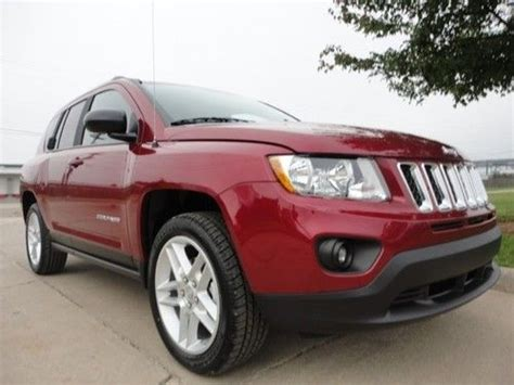 jeep compass sunroof sell new new 2013 jeep compass limited leather sunroof