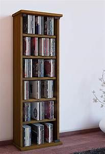 Dvd Regal Eiche Massiv : vcm regal dvd cd rack medienregal medienschrank ~ Michelbontemps.com Haus und Dekorationen