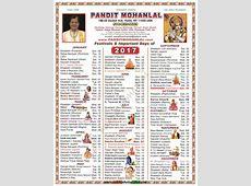 Hindu Calendar October 2017 List Of Hindu Festivals And