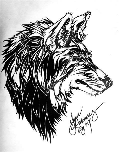 Tribal Animal Wallpaper - the gallery for gt tribal drawings of wolves