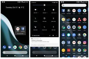 The Pixel 2's launcher has an automatic dark theme