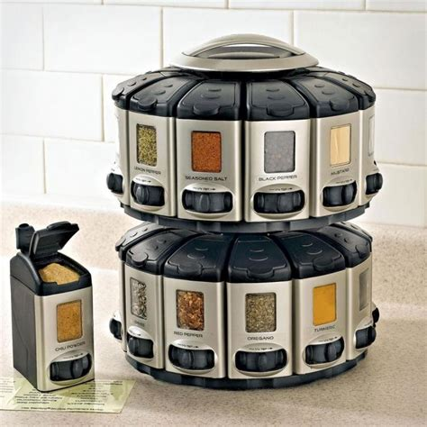 Spice Rack Carousel by Spice Rack Carousel With Auto Measure