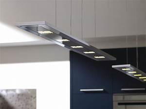 Suspension Pour Cuisine Moderne : cuisine design bois avec lot ~ Teatrodelosmanantiales.com Idées de Décoration