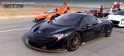 Mclaren P1 Top Speed Mph by Mclaren P1 Vs Mclaren 650s News Top Speed