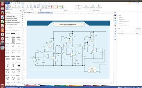 Schematics Diagram Software For Linux Create Schematic