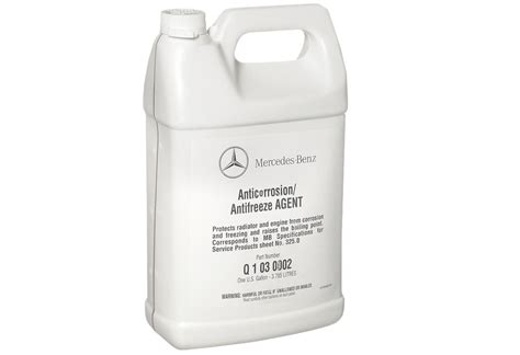 Mercedes Antifreeze by Mercedes Coolant Specifications The Mercedes