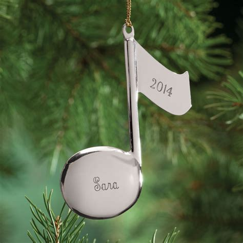 music note christmas ornament music note ornament