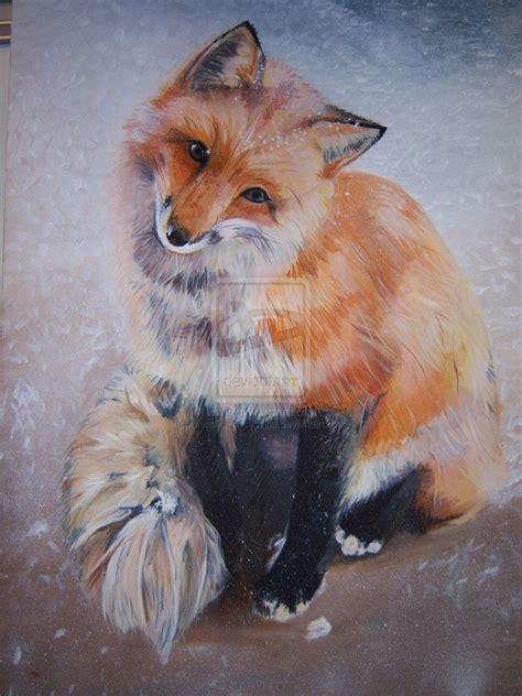teehee im famous fox painting  metallicprincessra
