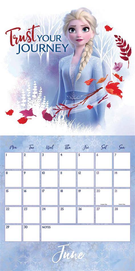 frozen   calendar  printable calendar