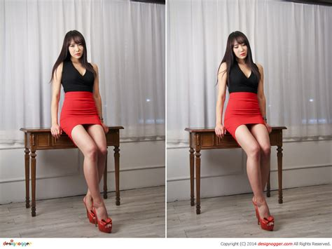 촬영회 모델 Sy 빨간 치마 컨셉 1 모델촬영 스튜디오 출사