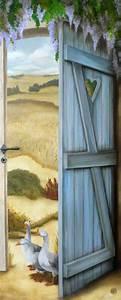 les 25 meilleures idees de la categorie trompe l oeil With idee de decoration de jardin 12 fresque murale decor peint et trompe loeil peinture