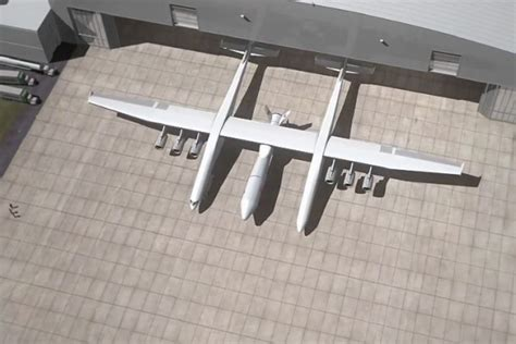 stratolaunch   largest aircraft  built