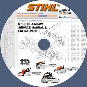 Stihl Chainsaw Ms210 Ms230 Ms250 Ms260 Service Repair