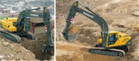 volvo crawler excavators specifications manuals