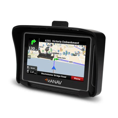 motorrad navi gebraucht vianav motorrad navi gps navigationssystem bluetooth 4 3 quot europakarte