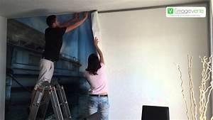 Tissu Mural Tendu : image verte d coration murale mur tendu tour de france photo 2015 youtube ~ Nature-et-papiers.com Idées de Décoration