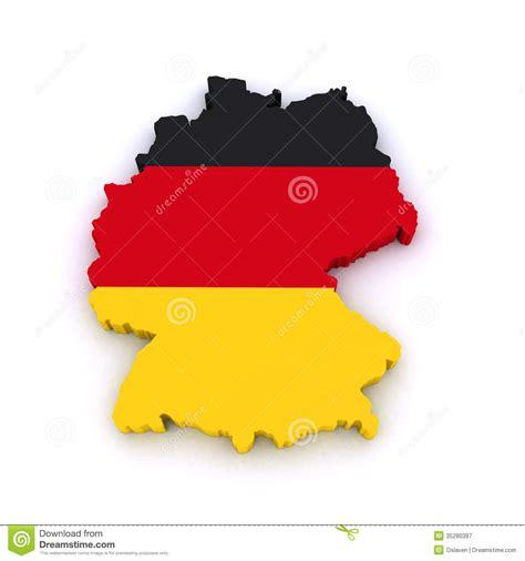 germany  map stock illustration image  deutschland