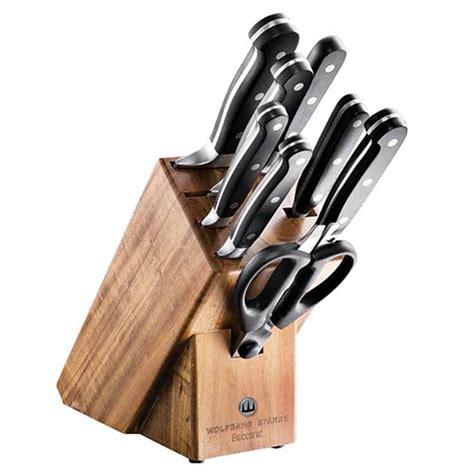 global kitchen knives baccarat wolfgang starke 9 knife block knife