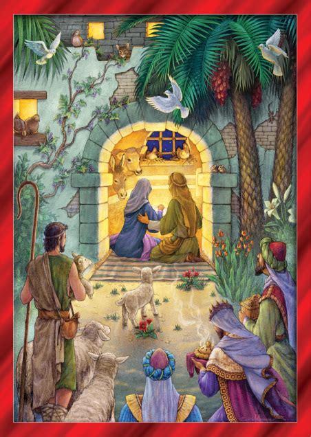 peaceful nativity christmas card nativity christmas cards