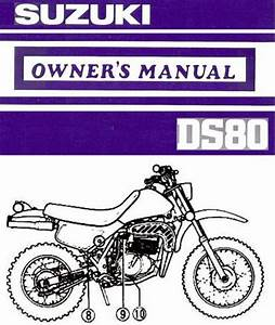 Purchase 1990 Suzuki Ds80 Motorcycle Owners Manual