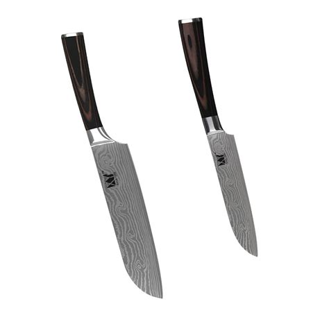 Brand Of Kitchen Knives by ჱxyj Brand Sharp 5 Inch 174 And And 7 Inch Santoku Knife ᐊ