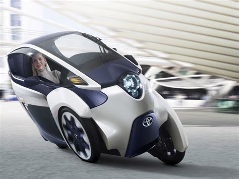 Toyota Concept Cars by Toyota I Road Concept Car