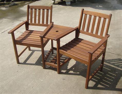 garden wooden bistro set outdoor patio furniture fsc