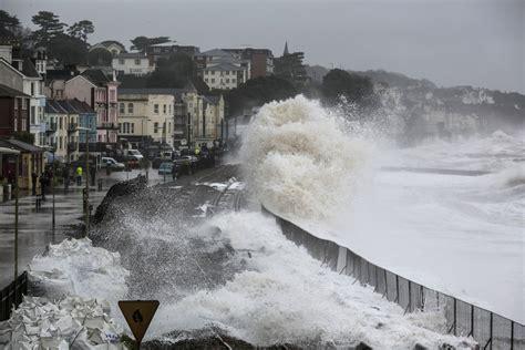 scotland lashed  mph winds  storm abigail strikes