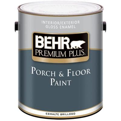 behr premium plus 1 gal gloss medium base porch and floor