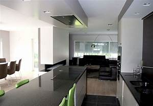 decoration interieur d39une villa moderne a bandol With entree de maison design 1 maison contemporaine blanche avec un interieur design