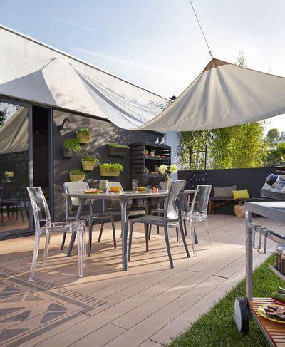 terrasse composite leroy merlin terrasse en bois composite look effet bois entretien en moins travaux