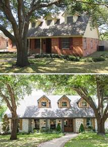 front porch designs for split level homes 20 home exterior makeover before and after ideas home