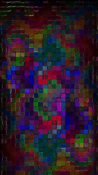 Mosaic Multicolor Rainbow Wallpapers Purple Fireworks Disney