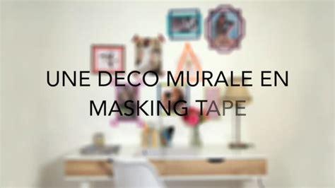 inspiration chambre ado diy créer une décoration murale en masking pour mon