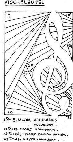 carte iris folding musique le scrap de coco iris