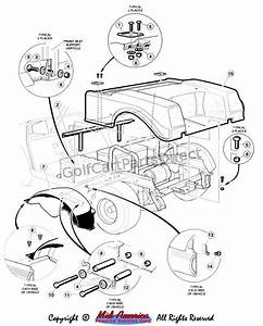 Ezgo Rear Axle Exploded Diagram