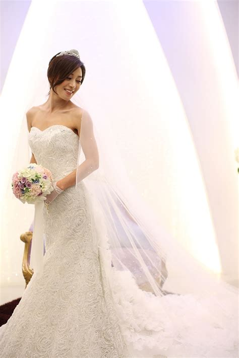 jang young nams happy wedding  hancinema  korean