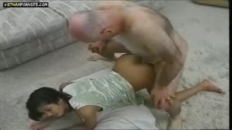 Vietnam Porn Vietnamese Girl Interracial Sex With Old