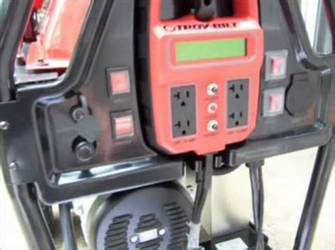 generac generator installed in a suncast garden shed fo