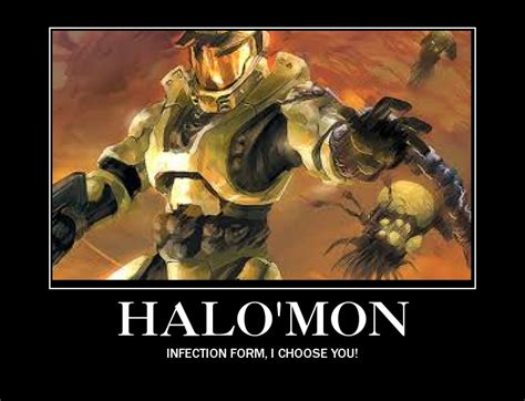 Funny Halo Memes - halo mon demotivational by aruon on deviantart