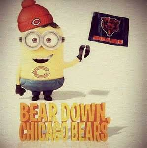 Minion Chicago Bears Football