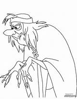 Coloring Cauldron Disneyclips Funstuff sketch template
