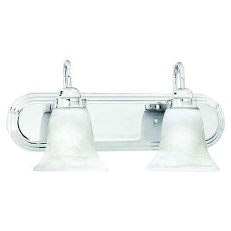 Home Depot Bathroom Vanity Light Fixtures by Lighting Homestead 2 Light Chrome Wall Vanity Light