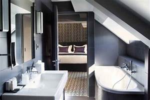 agencer une petite salle de bains With agencer une salle de bain