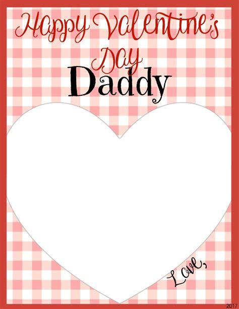 Happy Valentine's Day Dad Card Printable