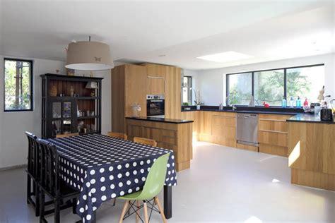 choisir sa cuisine doublement de surface par une extension en bois galerie