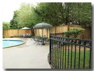 Privacy Fence around Pool Ideas